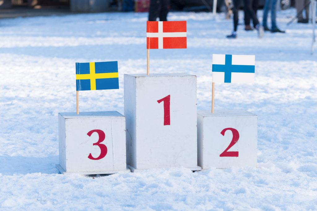 Danmark vant