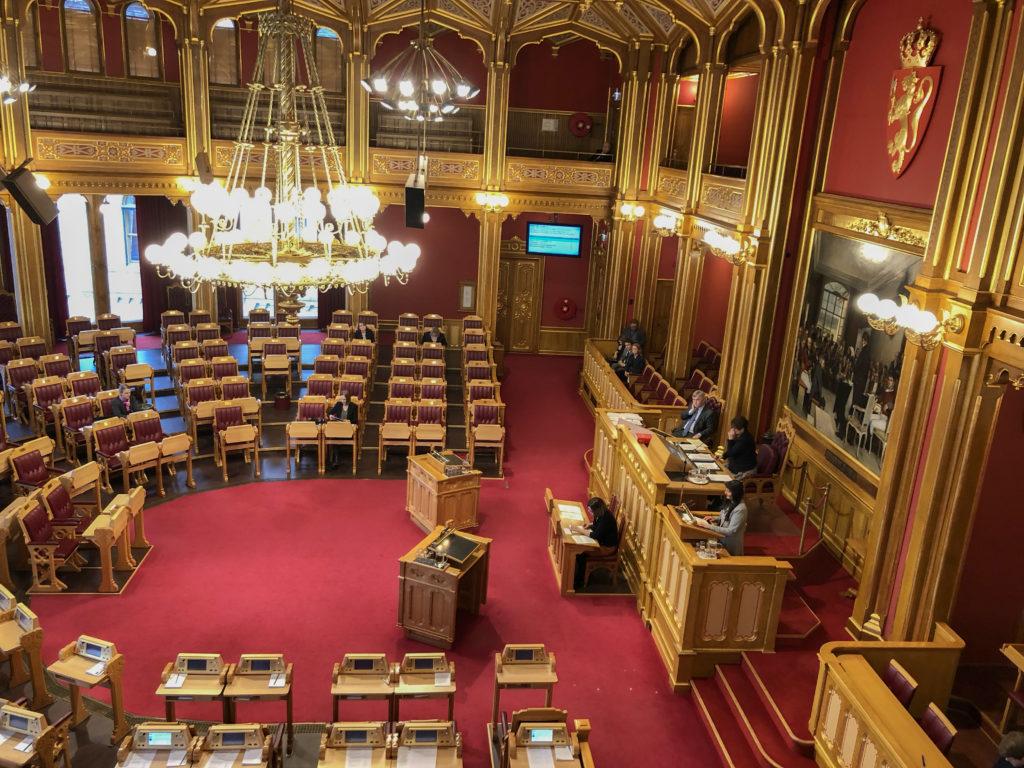Folkehelsemeldinga er presentert for Stortinget!