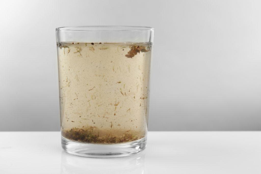 Drikkevann blir ikke politikk før det skifter farge!